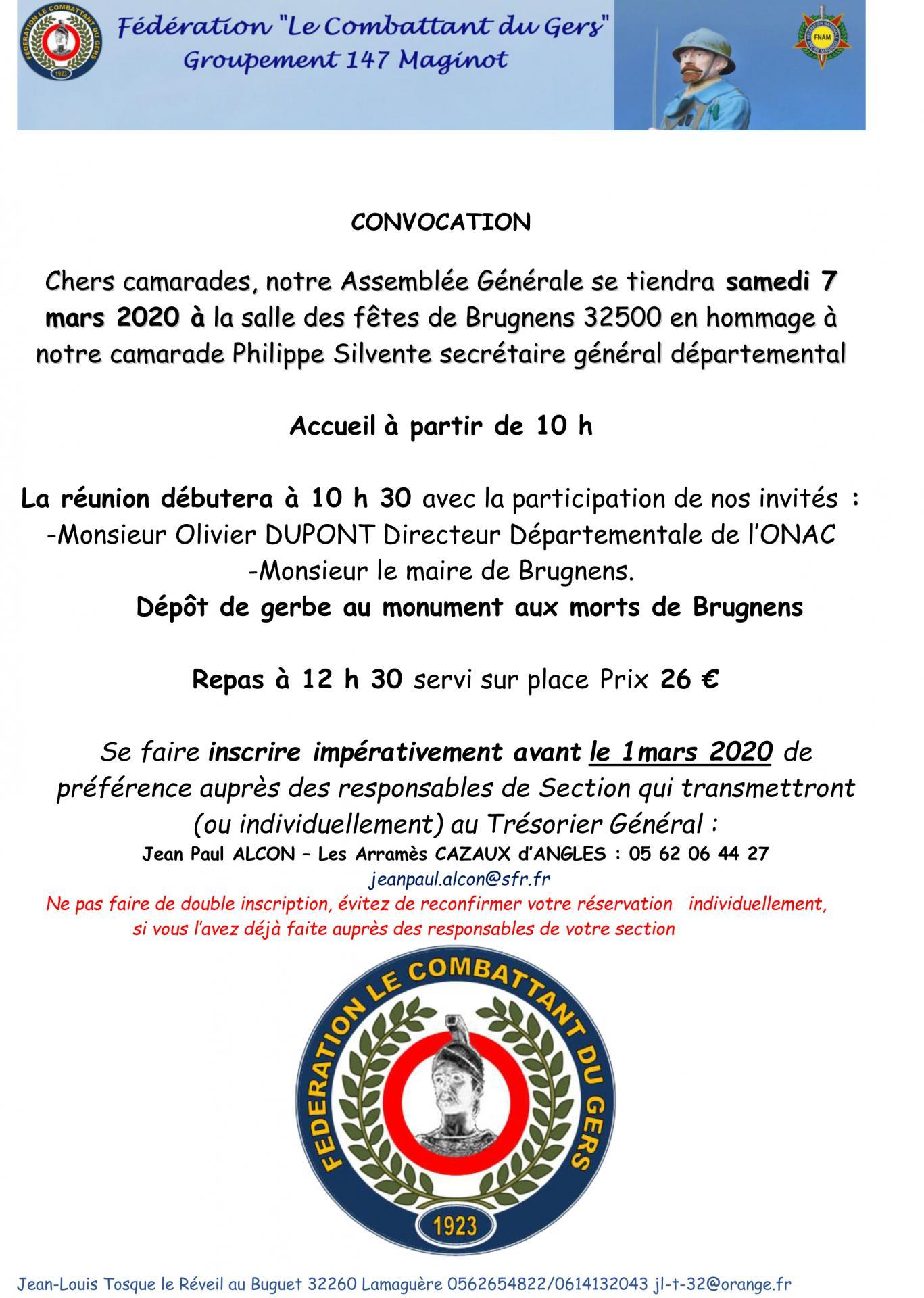 Convocation ag 2020 brugnens pour site